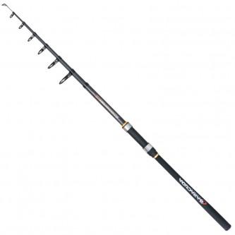 Lanseta spinning/stationar fibra de carbon Baracuda Avangard Tele 3.0 m A: 15-60 g