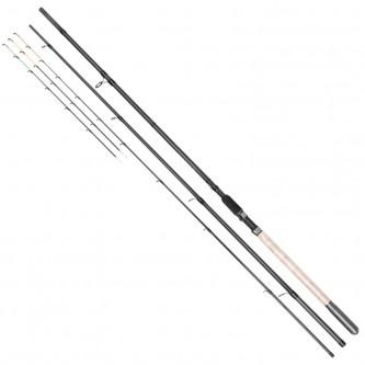 Lanseta feeder fibra de carbon Baracuda Dynasty Feeder Plus 390MH A: 60-120 g