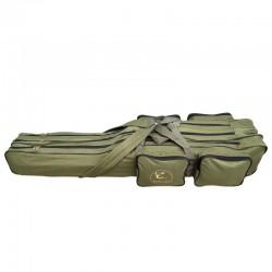 Geanta transport lansete 3 compartimente Baracuda B33, 150 cm, verde