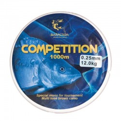 Nylon monofilament Baracuda Competition 900 m maro