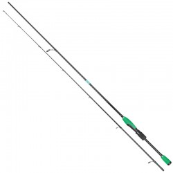 Lanseta spinning ultra-light carbon Baracuda Green Arrow 1.96 m A: 2-8 g