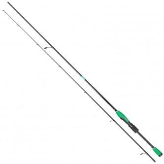 Lanseta spinning ultra-light carbon Baracuda Green Arrow 1.96 m A: 2-8 g