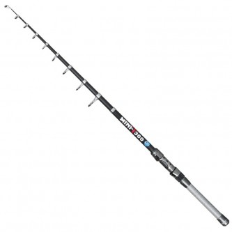 Lanseta telescopica spinning/stationar carbon Baracuda Mini T-300 A:20-40 g