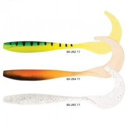 Shad Trendex SLIM TAIL UV, 110 mm, 5 buc/set
