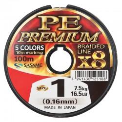 Fir textil multifilar Sasame Ultra PE Premium X 100 m, multicolor