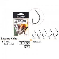 Ace pescuit Sasame Kaizu, 16 buc/set, black nickel