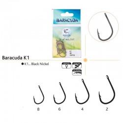 Set ace/carlige Baracuda K1, 10 buc/plic