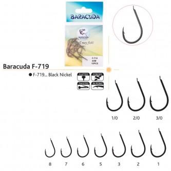 Set ace/carlige Baracuda F-719, 10 buc/plic