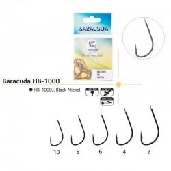 Set ace/carlige Baracuda HB-1000, 10 buc/plic