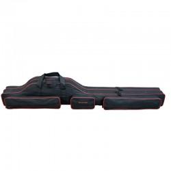 Geanta lansete 2 compartimente Baracuda B43, 150 cm, neagra