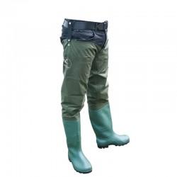 Cizme sold (soldare) Baracuda nylon/PVC, culoare verde