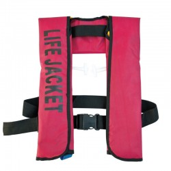 Vesta salvare SV8, 100 kg, rosu/negru, umflare automata