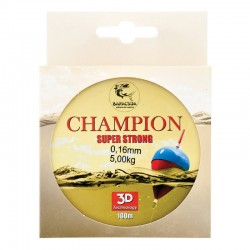 Nylon/fir monofilament Baracuda Champion 100 m, maro