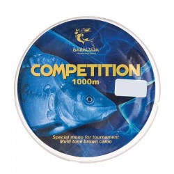 Nylon monofilament Baracuda Competition 1000 m maro
