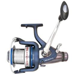Mulineta crap/somn Baracuda Blue Star 7000, baitrunner, 6R