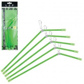 Set anti-tangle rigid, 18/20/22 cm, 5 buc/set, verde
