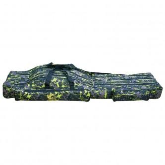 Geanta lansete Baracuda B46, 130 cm, 4 compartimente, camuflaj