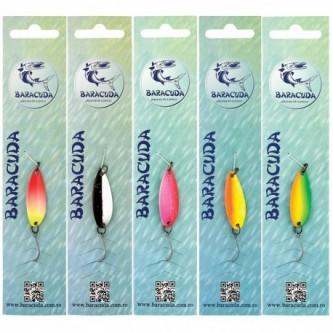 Set lingurite Baracuda SSF10, 5 buc/set, 3.5 cm, 3.5 g