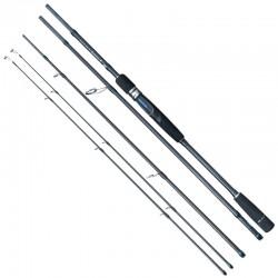 Lanseta spinning carbon Baracuda Urban Stick 2.4 m, A: 7-20 g sau 15-40 g, 4 tronsoane