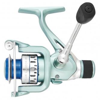 Mulineta bolognesa/spinning usor Baracuda Blue Lagoon 10, 7R, frana spate