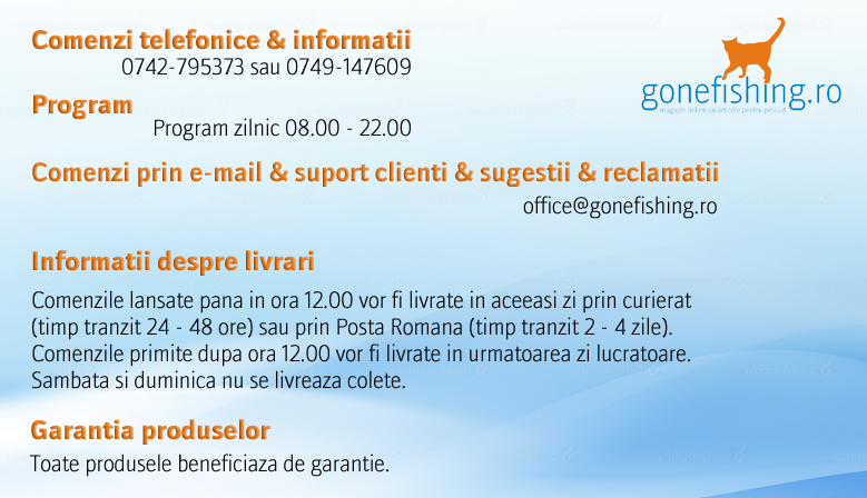 Banner informatii gonefishing.ro